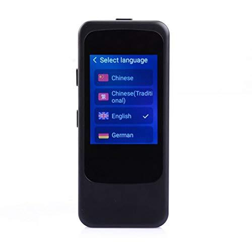 YP Traductor de Voz Inteligente, Bestrans Traductor con Traducción a Través de Cámara, WiFi y Punto de Acceso Soporta 25 Idiomas con Traducción Oral en Ambos Sentidos