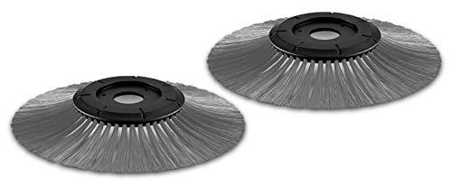 Kärcher Seitenbesen (für feuchtes Kehrgut, nasses Laub, kompatibel mit Kehrmaschinen S 500, S 550, S 650, S 750)