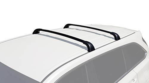 BRIGHTLINES Aero Cross Bars Roof Racks Luggage Rack Replacement for 2014-2019 Toyota Highlander LE & LE Plus