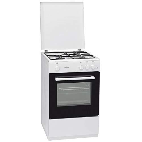 Oranier FZ 2298-2298 15 Gas Standherd Weiß Backofen Herd 50cm Küche
