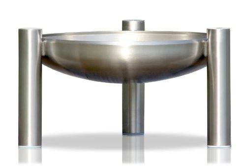 Edelstahl Feuerstelle, Ø 50 cm, RICON, deutsche Herstellung
