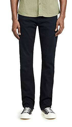 Citizens of Humanity Men's Gage Classic Straight Jeans in Harrison Wash, Harrison, Black, 36