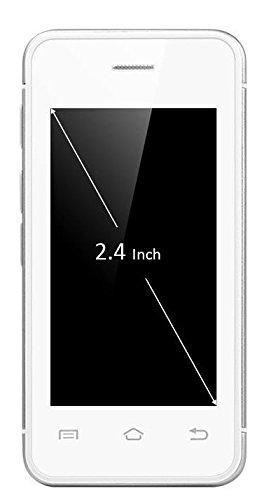 My Palmo Ultra Mini Smartphone Il Più Piccolo Telefono Al Mondo Android 5.0 Lollipop 2 Gb Ram 8 Gb Rom Silver Argento