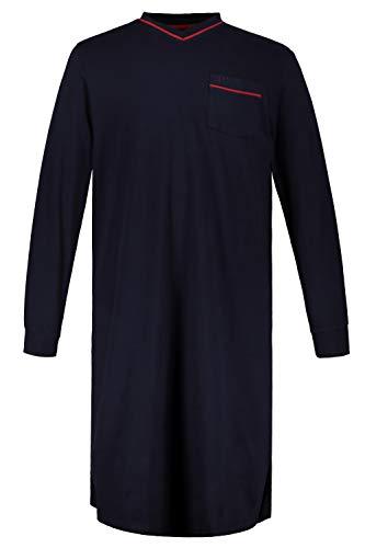 JP 1880 Herren große Größen Nachthemd Navy 6XL 721331 70-6XL
