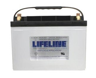 Lifeline Marine AGM Battery - GPL-27T