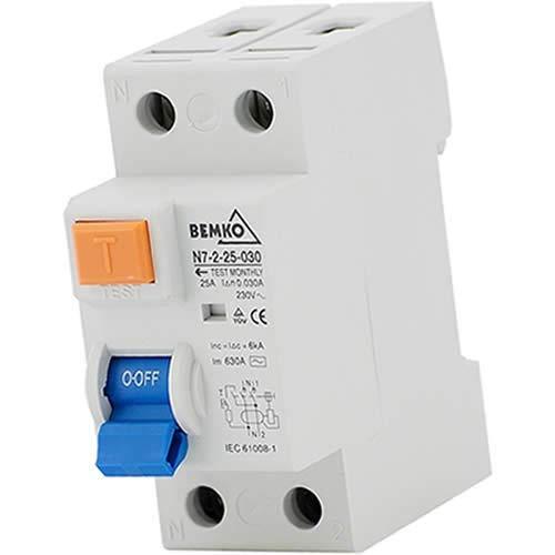 Fehlerstromschutzschalter FI-Schutzschalter 2-polig; 300mA; 40A