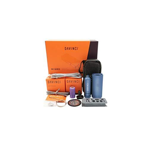 DaVinci MIQRO Explorer Vaporizer Blue enthält keine Tabak
