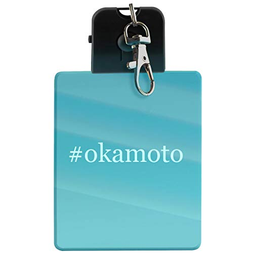 #okamoto - Hashtag LED Key Chain with Easy Clasp