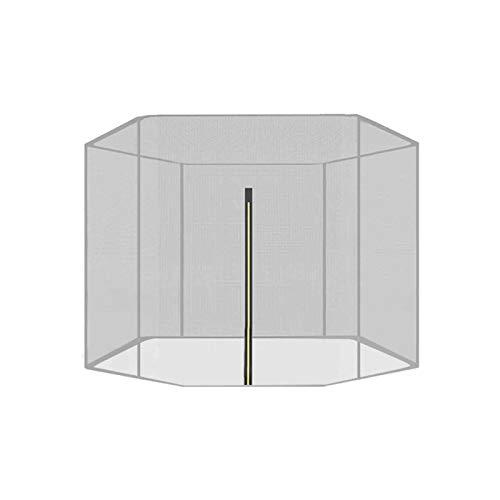 Primlisa Studsmatta ersättningsnät säkerhetsnät, studsmatta nät Ø 183 244 305 366 396 427 457 488 cm För 6/8/10/12 stänger, studsmatta ersättningsnät säkerhetsnät, rivfast, UV-resistent