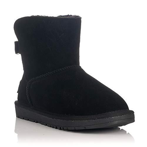 MTNG Collection 57454, Botas de Nieve para Mujer, Negro (Suede Negro C30659), 39 EU