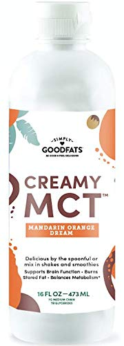 Simply GOODFats Simply Goodfats Creamy Mct Mandarin Orange Dream, 16 Fluid Ounce