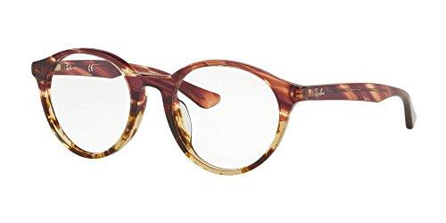 Ray-Ban Rx5361F - 5838 Brillen 51mm Rosa Grad Beige Stripped