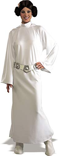 Star Wars Deluxe Princess Leia Adult Costume One size Star Wars Fancy Dress