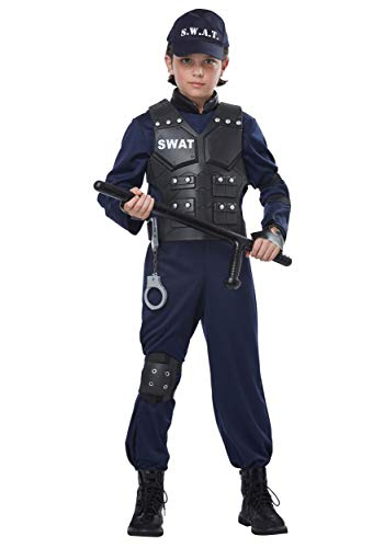 California Costumes Junior Swat Child Costume Navy, Extra Large