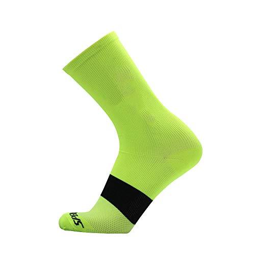 BLOMDE Calcetines Para Hombre Calzado De Ciclismo De Carreras De Deportes Al...