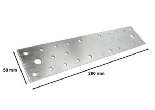 Geperforeerde plaat houten nagelplaat plat Connector, geperforeerd, 200 mm x 50 m