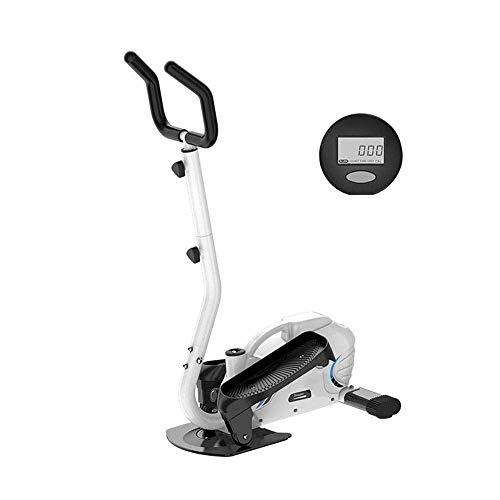 NBVCX Cuidado Personal Salud Máquina elíptica para Ejercicio con pasamanos Máquina a Pedal Adecua