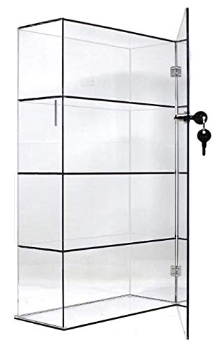 T'z Tagz Brand Acrylic Lucite Showcase Jewelry Pastry Bakery Counter Display W/Door & Lock (10' X 4' X 18.25'h)