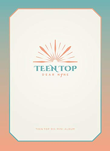TOP MEDIA TEENTOP - Dear.N9NE [Drive ver.] (9th Mini Album) CD+88p Photobook+Clear Photocard+Unit Photocard+Folded Poster