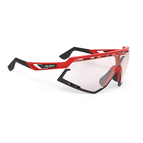 Rudy Project Occhiali Defender Fire Red Gloss – ImpactX Photochromic 2 Laser Red