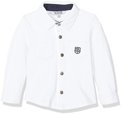 Kanz Hemd langärmlig Jungen Weiß,86