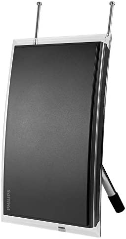 Philips Amplified Crystal Indoor TV Antenna Long Range Digital HDTV Antenna Smart TV Compatible product image