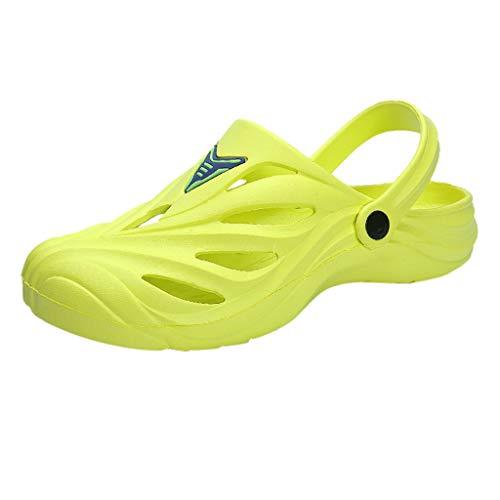 Aoogo Unisex Mode Sandalen Clogs Herren/Damen Atmungsaktiv Schuhe Dicken Sohlen der Hohlen Strandschuhe Verbinden Zufällige Lochschuhe