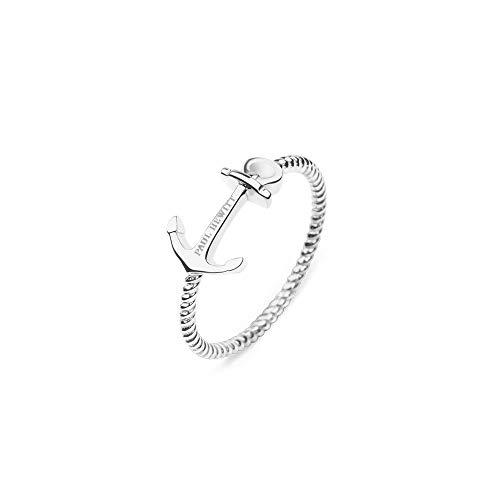 PAUL HEWITT Damen Edelstahl Ring Anchor Rope - Damenring Edelstahl, Ring für Damen in Silber