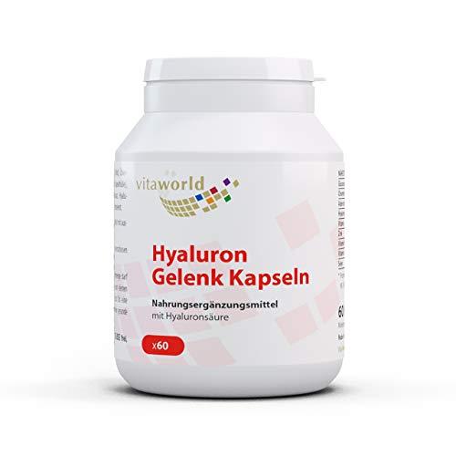 Pack de 3 Vita World Articulación Hialurónica 3 x 60 Cápsulas Farmacia Alemania
