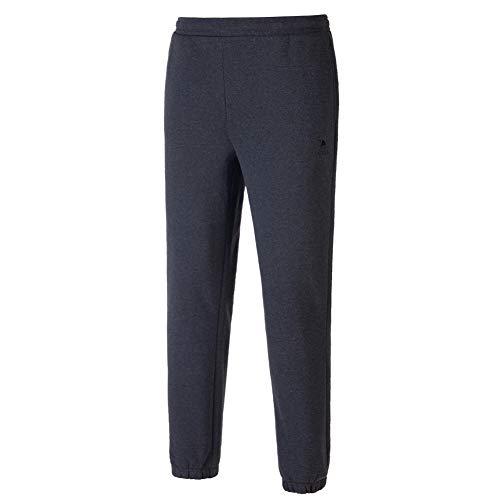 Camel - Pantalones largos de deporte para mujer, con cintura elástica, bolsillos, térmicos, pantalones de entrenamiento para el tiempo libre, para invierno gris M