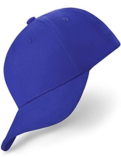 REEFLESS® Baseball Cap Herren Damen Blaue Basecap - verstellbare Kappe - Caps für Männer Frauen