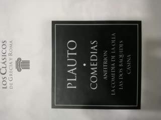 Comedias Anfitrion La Comedia De La Olla. Las Dos Baquides, Casina,