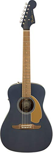 Fender Gitarre Malibu Normale Größe Midnight Fleck