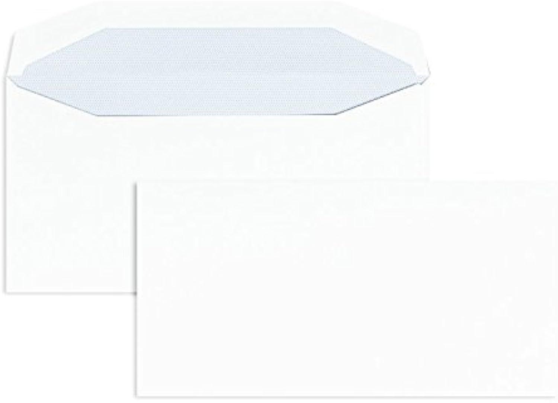 KuGrünierhüllen   Premium   110 x 220 mm (DIN Lang) Weiß (1000 Stück) Nassklebung   Briefhüllen, KuGrüns, CouGrüns, Umschläge mit 2 Jahren Zufriedenheitsgarantie B00FPO32MY | Feine Verarbeitung