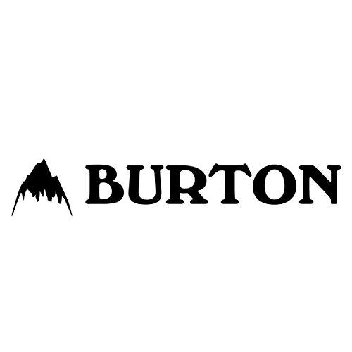 BURTON バートン 【Logo Sticker 約5.5cm×約27cm】 Black ステッカー 切り抜き カッティングステッカー SNO...