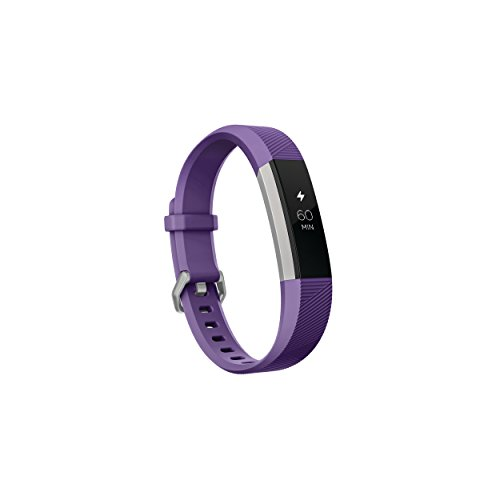 Fitbit Ace, Activity Tracker for Kids 8+, Power Purple / Stainless Steel, 1 Count