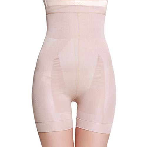 CUEYU Faja Reductora Braguita Moldeadora Adelgazante Faja Pantalón Cintura Alta Body Moldeador Abdomen Shapewear Lenceria Mujer