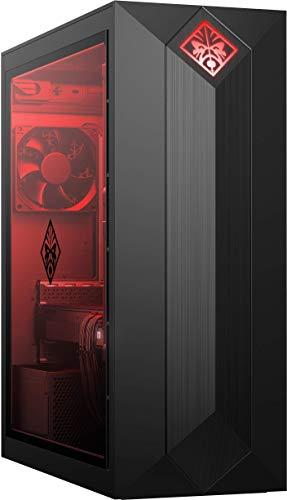 HP OMEN Gaming 875-0013ns - Ordenador de sobremesa (Intel Core i7-8700, 16GB RAM, 2TB HDD + 256GB SSD, NVIDIA GTX 1060-6GB, Windows 10), Color Negro