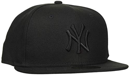 New Era Erwachsene Baseball Cap Mütze Mlb Basic NY Yankees 59Fifty Fitted, schwarz, 7.625