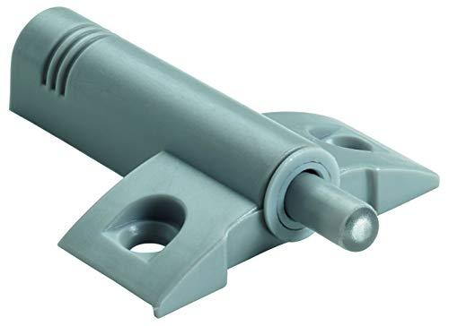 Hettich 9219935 Anschraub-Türdämpfer (Möbeltürdämpfer) -Kunstststoff, nachrüstbar, 10 STK, grau