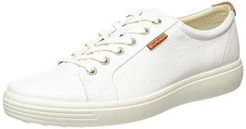 Ecco ECCO Herren Soft 7 Men's Sneakers Weiß (White 1007) 40 EU