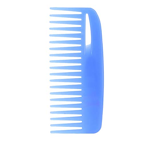 GAESHOW Coloré Large Large Tooth Hair Styling Peigne Anti-statique Coiffure Peigne Coiffure Outil Large Tooth Hair Peigne(Bleu)