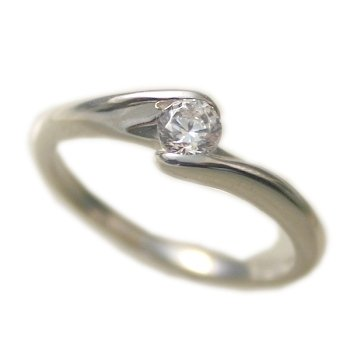 婚約指輪 ケース付 ダイヤモンド プラチナ 0.2カラット 鑑定書付 0.213ct Eカラー VS1クラス 3EXカット H&C CGL サイズ6号