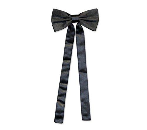 Old Style Western Schleifenkrawatte schwarz Vintage Fliege Oldstyle Westernkleidung Westernbekleidung Schwarz