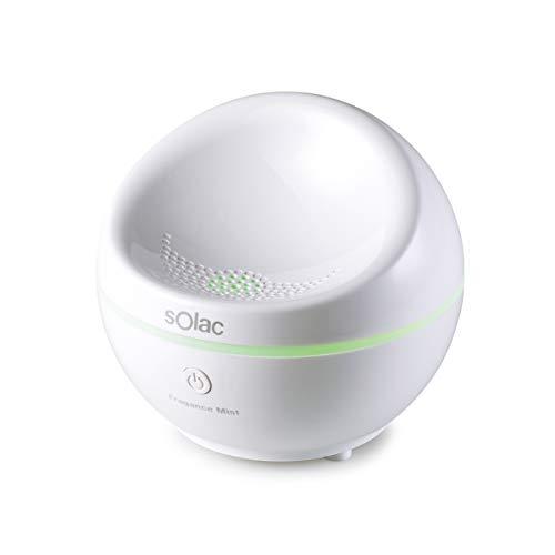 Solac Humidificador ultrasónico Fragance–Mist HU1052, 9 W, Plástico, Blanco