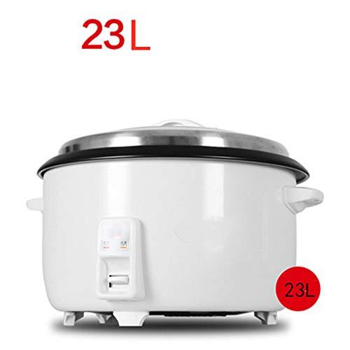 Grote capaciteit van rijstkoker 23 liter, anti-aanbaklaag, automatisch koken, gemakkelijk te reinigen, hoge temperatuur, keukenapparatuur, beschermende structuur.