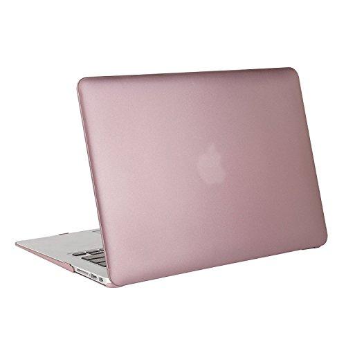 『Mosiso - MacBook Air 11インチ プラスチック ハードケース 薄型 耐衝撃 保護 シェルカバー (対応モデル:A1370 / A1465) (ローズ ゴールド)』の2枚目の画像