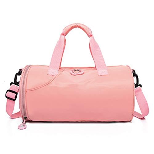 Ai-yixi Sac de sport au design classique pour le fitness, le yoga, les voyages, les vêtements de sport, le sport, le sac à main, la pluie, le rangement des chaussures - Couleur : rose, taille : A
