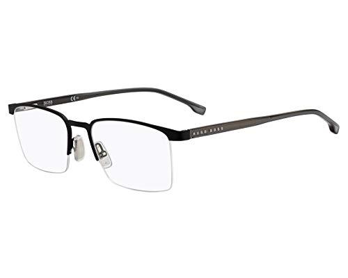 Hugo Boss Brille (BOSS-1088 003) Optyl - Metall schwarz matt - grau kristall