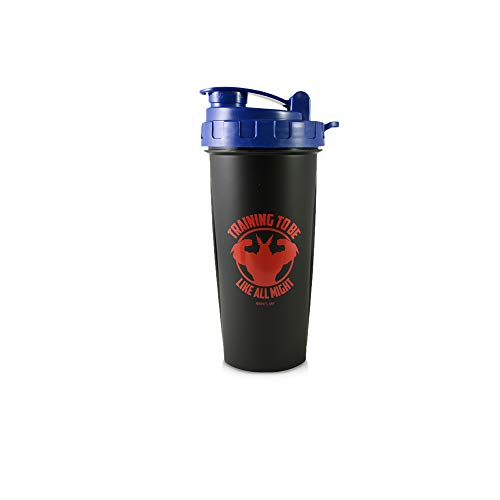 My Hero Academia Blender Shaker Bottle 20 oz Best Portable Pre Workout Whey Protein Drink Shaker Cup , Mixes Cocktails, Smoothies and Shakes , Dishwasher Safe